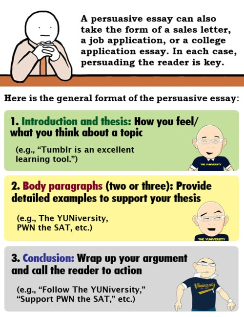Order of importance in a persuasive essay