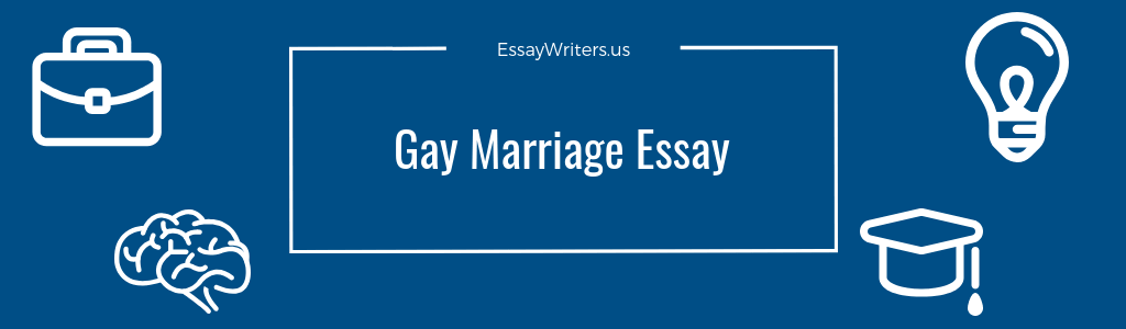 same marriage persuasive essay