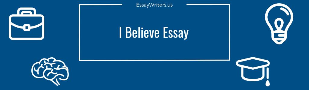 Belief essay